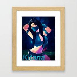 Kitana Framed Art Print