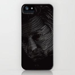 Johnny Cash Portrait iPhone Case