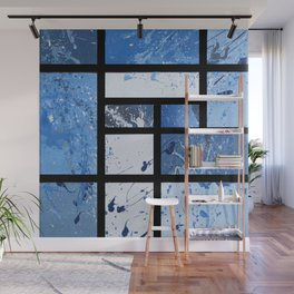 Movin with Pollock, Mondrian & Haring  Wall Mural