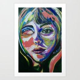 Miss Art Print