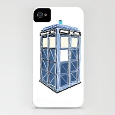 The Tardis Slim Case iPhone (4, 4s)