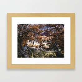 Fall in Patagonia, Argentina Framed Art Print