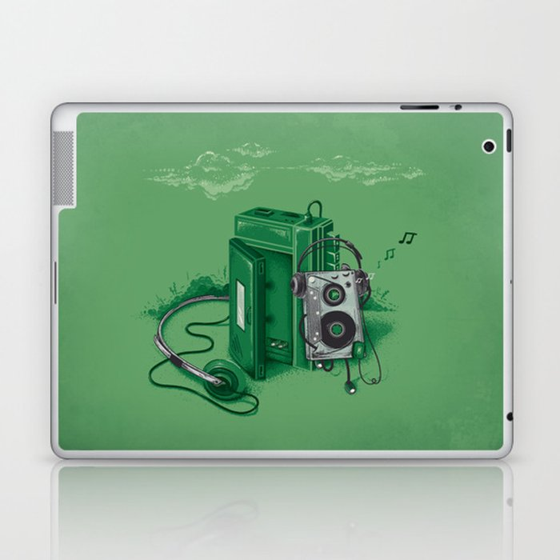 Music Break Laptop & iPad Skin