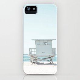 Lifeguard Beach Hut iPhone Case