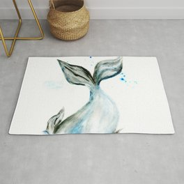 Whale tail Rug