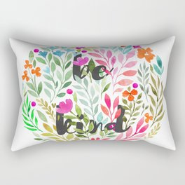 Be kind V1 - Just be Collection Rectangular Pillow