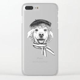 La Laika Clear iPhone Case