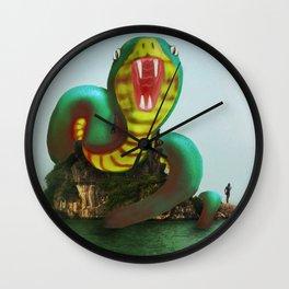 Halong Naga Wall Clock
