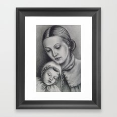 more than 100 years ago -2- Framed Art Print
