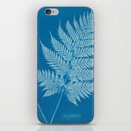 Fern Cyanotype, 1800s iPhone Skin
