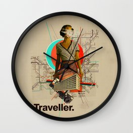 Traveller Wall Clock