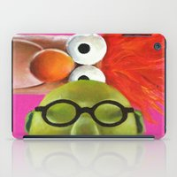 muppets iPad Cases featuring The Muppets - Bunsen and Beaker by Kristin Frenzel