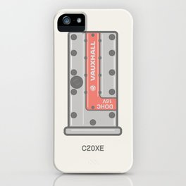 Vauxhall C20xe Rocker cover Illustration iPhone Case