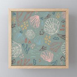 Deep-sea Treasures Framed Mini Art Print