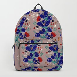 Folk Spring Flowers blooms - number1 Backpack