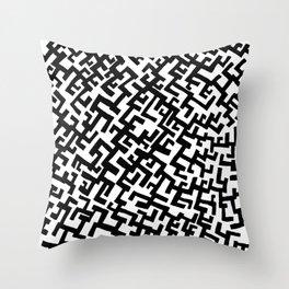 Not a Maze Throw Pillow