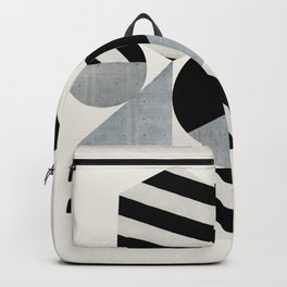 Abstraction_Geometric_SHAPES Backpack