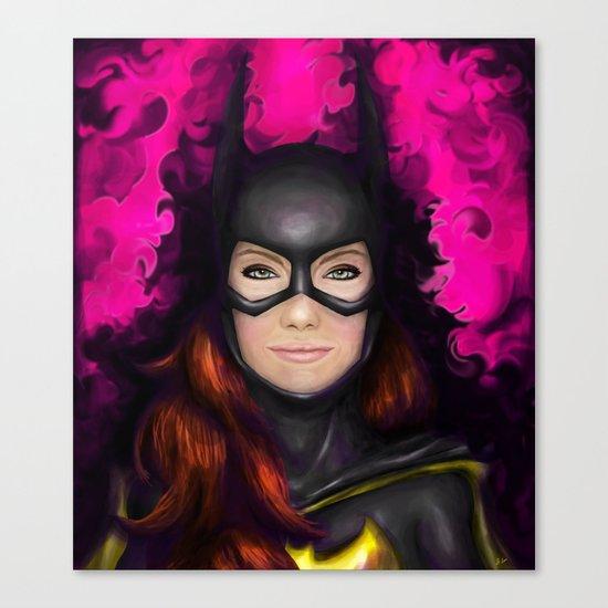 Bat of Stone Canvas Print