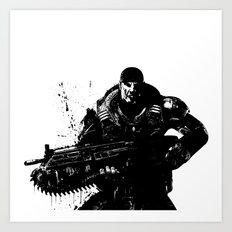 War Soldier Art Print