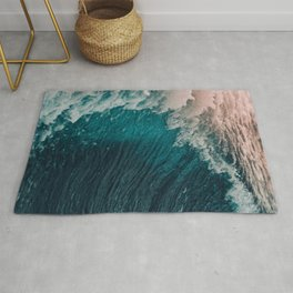The waves Rug