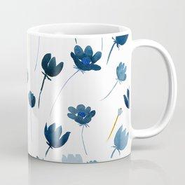 Dreamy Blue Flowers Coffee Mug