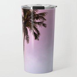 Vintage Tropical Palm Tree Travel Mug