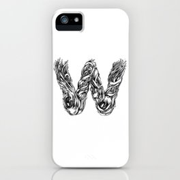 The Illustrated W iPhone Case