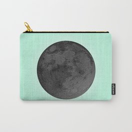 BLACK MOON + TEAL SKY Carry-All Pouch