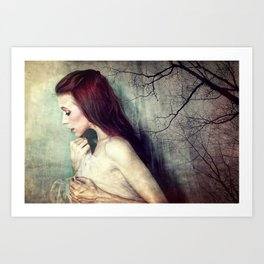 Her Dreams Became So Small Art Print
