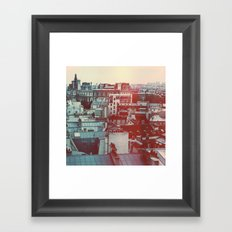 Paris Revisited Framed Art Print