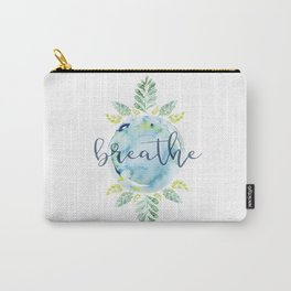 Breathe - Watercolor Carry-All Pouch