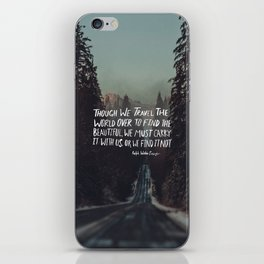 Road Trip Emerson iPhone Skin