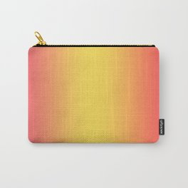 Ombre Anjo Raspberry Gold Gradient Carry-All Pouch