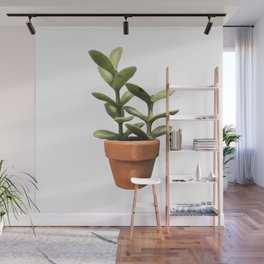 Potted Succulent Wall Mural