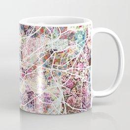 Clermont-Ferrand map Coffee Mug