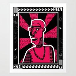 1001 Black Men--#216 Art Print