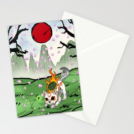 Baby Okami Stationery Cards