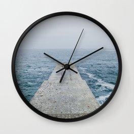Spring sea Wall Clock