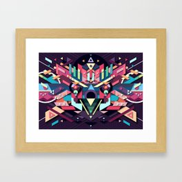 BirdMask Visuals - Sparrowhawk Framed Art Print