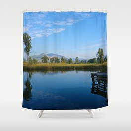 reflection of soul Shower Curtain