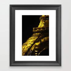 Paris Lights Framed Art Print