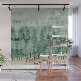 Into wilderness we go Wall Mural