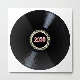 2020 Long Player Record Metal Print