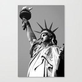 Miss Liberty Canvas Print