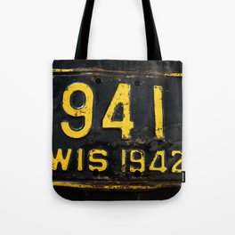 Vintage - Wis 941 Tote Bag