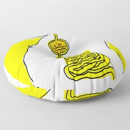The fat guy Floor Pillow