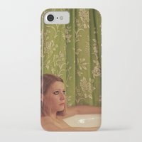 tenenbaum iPhone & iPod Cases featuring MARGOT TENENBAUM by VAGABOND