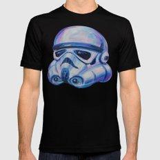 stormtrooper baby Mens Fitted Tee Black MEDIUM