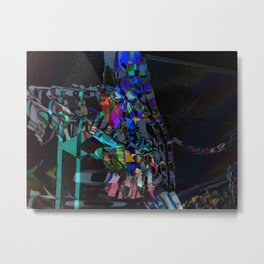 Bluelight dancers Metal Print