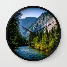 Majestic Yosemite Wall Clock